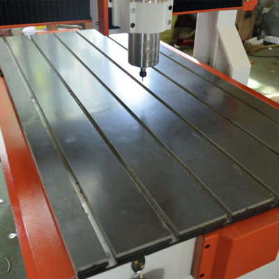 PVC table for the small cnc router machine