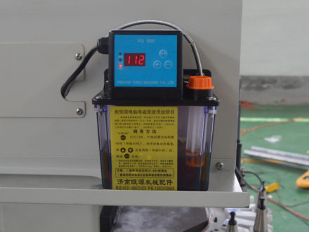 automatic lubrication system for cnc router