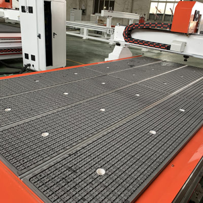 vacuum table in zones for CNC Cutting Machine