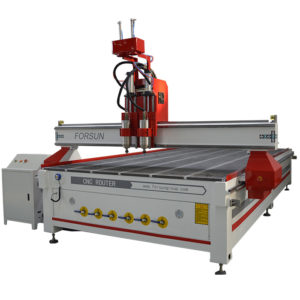 Two Spindles CNC Router Machine (Simple ATC CNC Router)