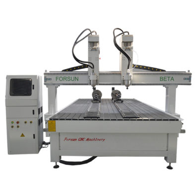 cnc router machine with rotary axis