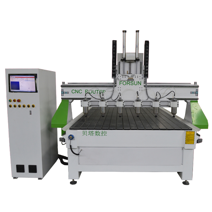 Multi-Head Relief CNC Engraving Machine