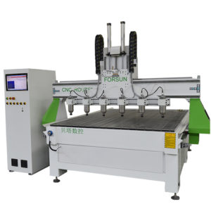 cnc router machine with multi spindles