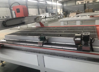 CNC wood router machine with rotary axis