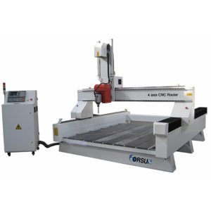 Light-Duty 4 Axis CNC Router 4x8ft