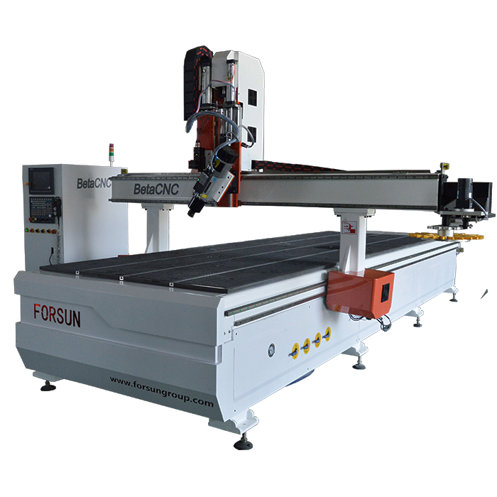 China Best Cheap 4 Axis CNC Router Machine for sale