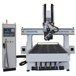 Best 4 Axis Wood CNC Router FS1325D-4Axis