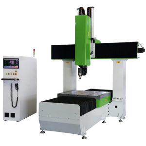 Light-Duty 5 Axis CNC Wood Router Machine