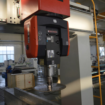 5 axis rotary head of CNC wood router machine