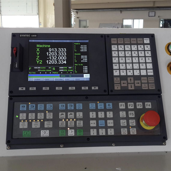 Syntec controller for FORSUN CNC ROTUER MACHINE