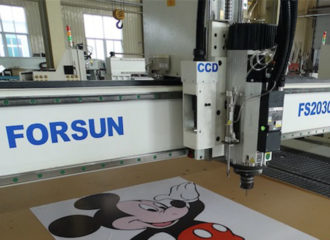 cnc router with CCD Camera