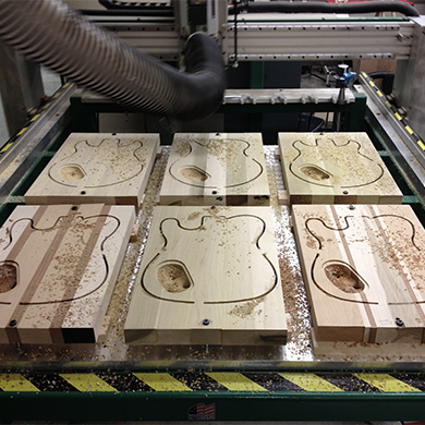 guitar projects by cnc router