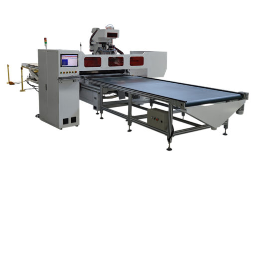 Nesting CNC Router with Automatic Loading and Unloading table
