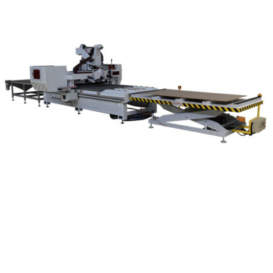 CNC Nesting Router with Automatic Loading and Unloading table for sale