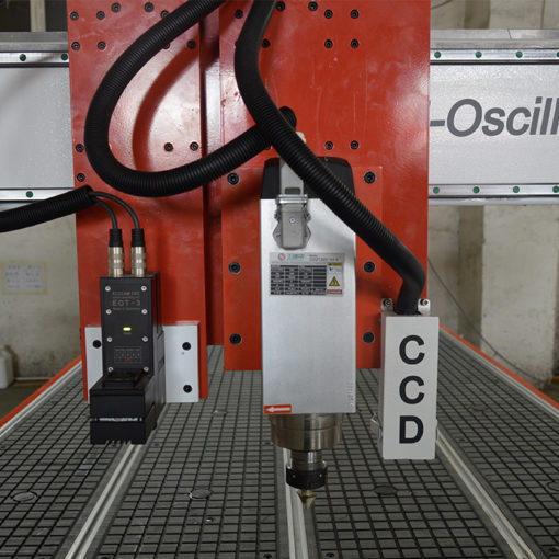CCD Camera system of oscillating knife cnc cutting machine