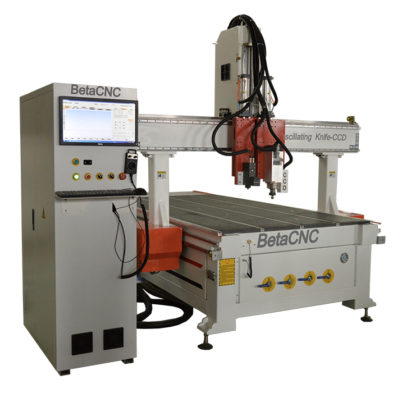 oscillating knife cnc cutting machine with CCD Camera system