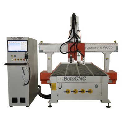 oscillating knife cnc cutting machine with CCD Vision system