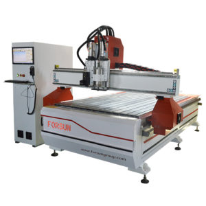 CNC Router with Oscillating Knife Cutting Machine