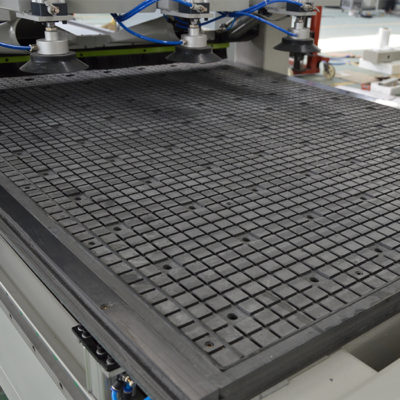 vacuum table in zone