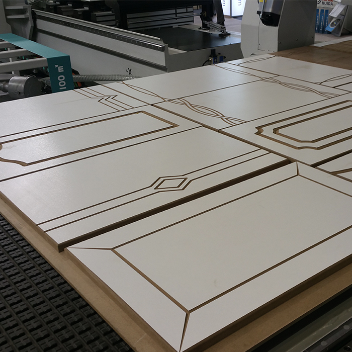 CNC wood router machine project