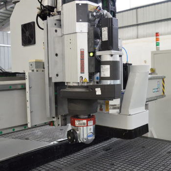C axis and duo aggregate of CNC router machine
