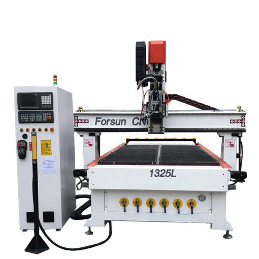 Best 1325 Wood CNC Router Machine with C Axis and Dual Aggregate for sale