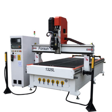Wood CNC Router with C Axis and Dual Aggregate
