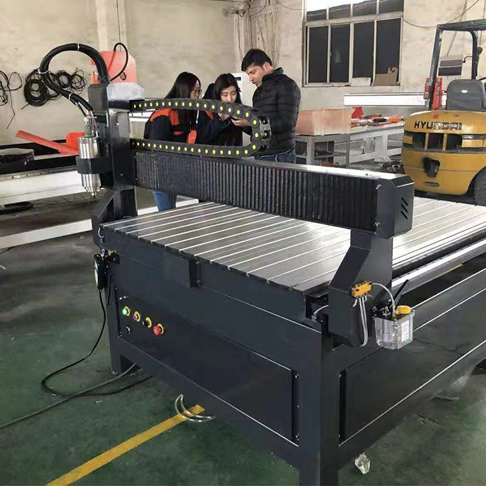 customer visit for CNC Router