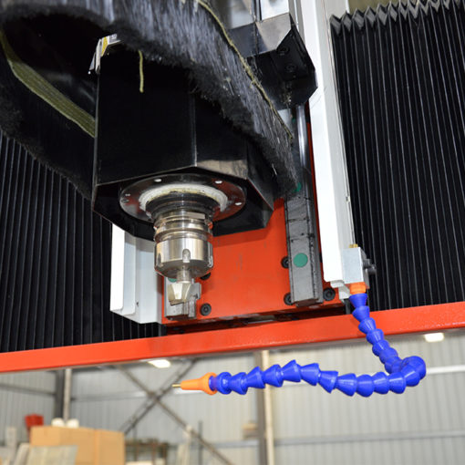 oil mist cooling system for CNC router machine