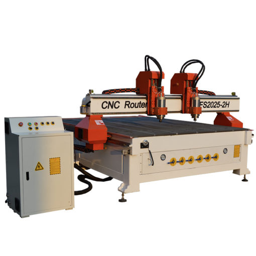 Wood CNC Router 2030 with 2 spindles 2