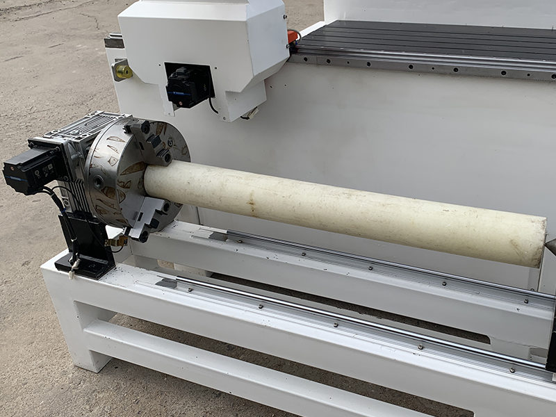 cnc router machine with Rotate axis