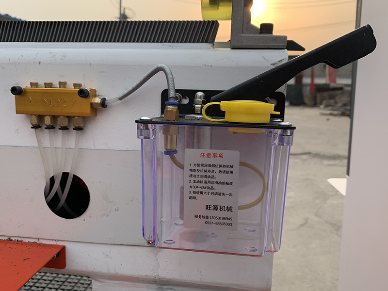 automatic lubrication system for cnc router machine