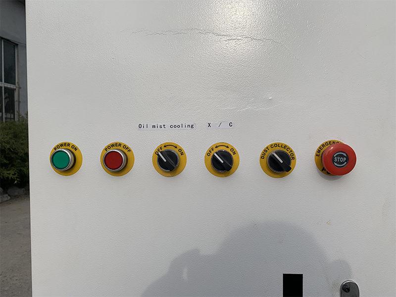 cnc engraving machine control buttons