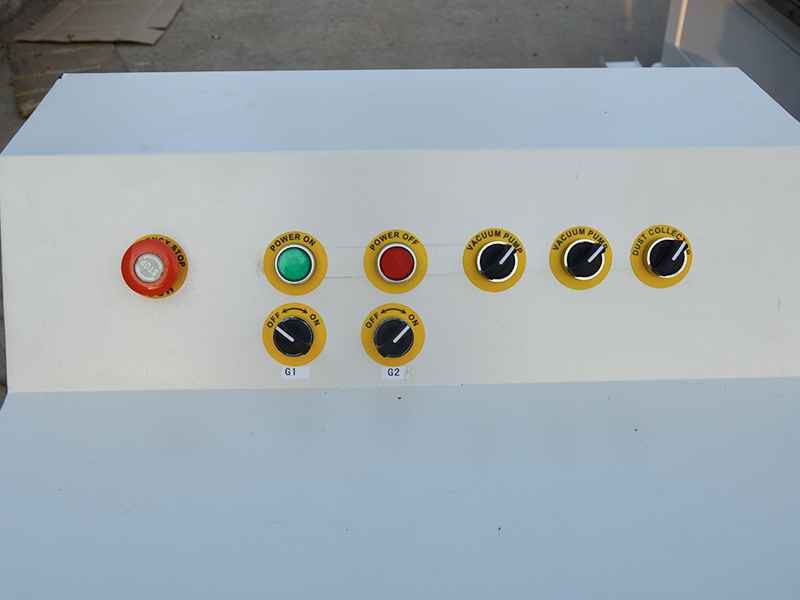 multi-function buttons for cnc router