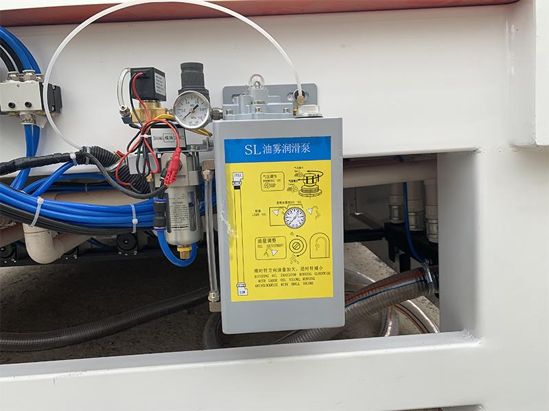 oil mist cooling system