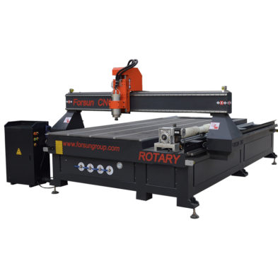 1325 CNC Router with rotary Axis device