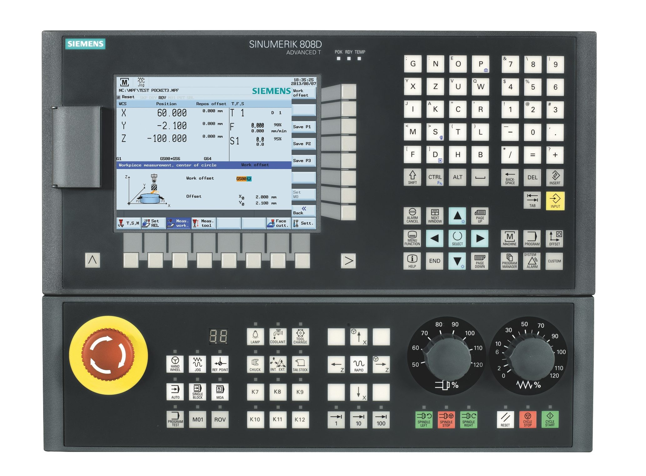 SIEMENS 808D controller for wood cnc router