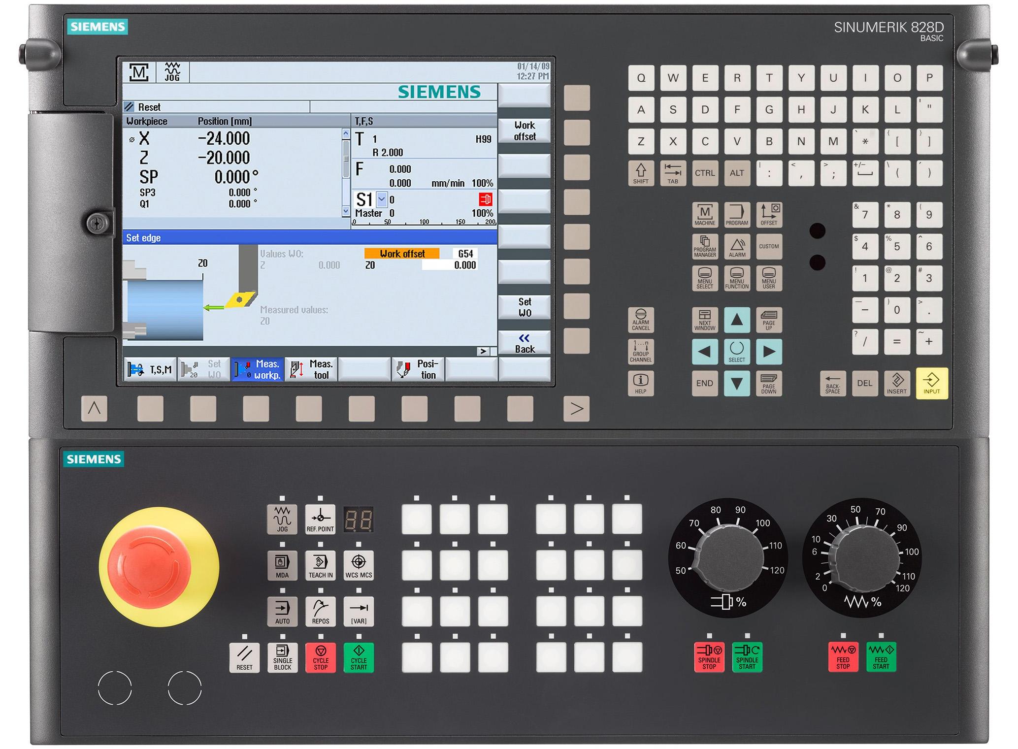 SIEMENS 828D controller for CNC cutting machine