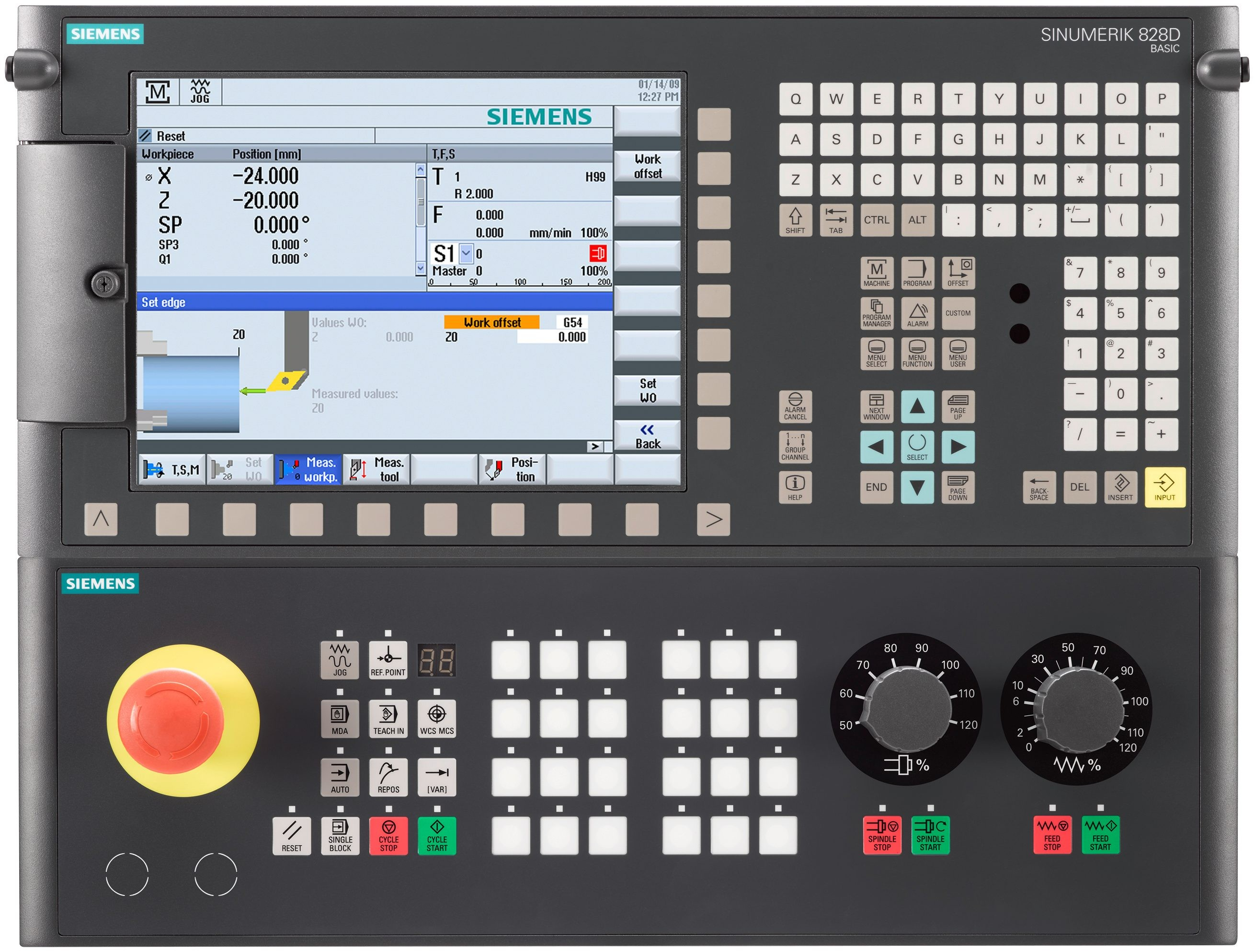 SIEMENS 828D Controller for CNC ROUTER MACHINE