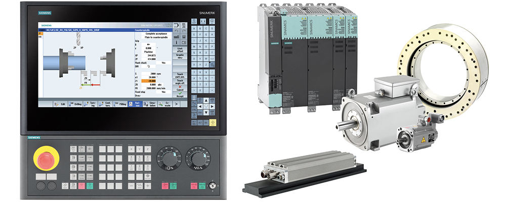 SIEMENS 840D Controller for wood cnc router
