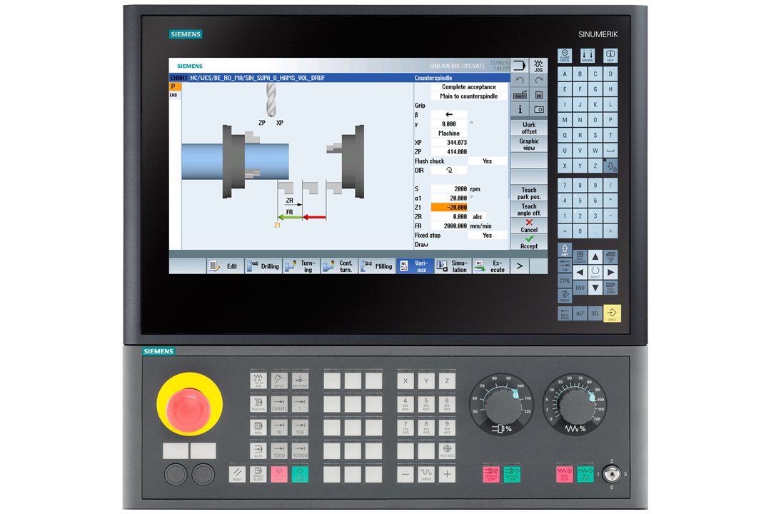 SIEMENS 840 for CNC Router