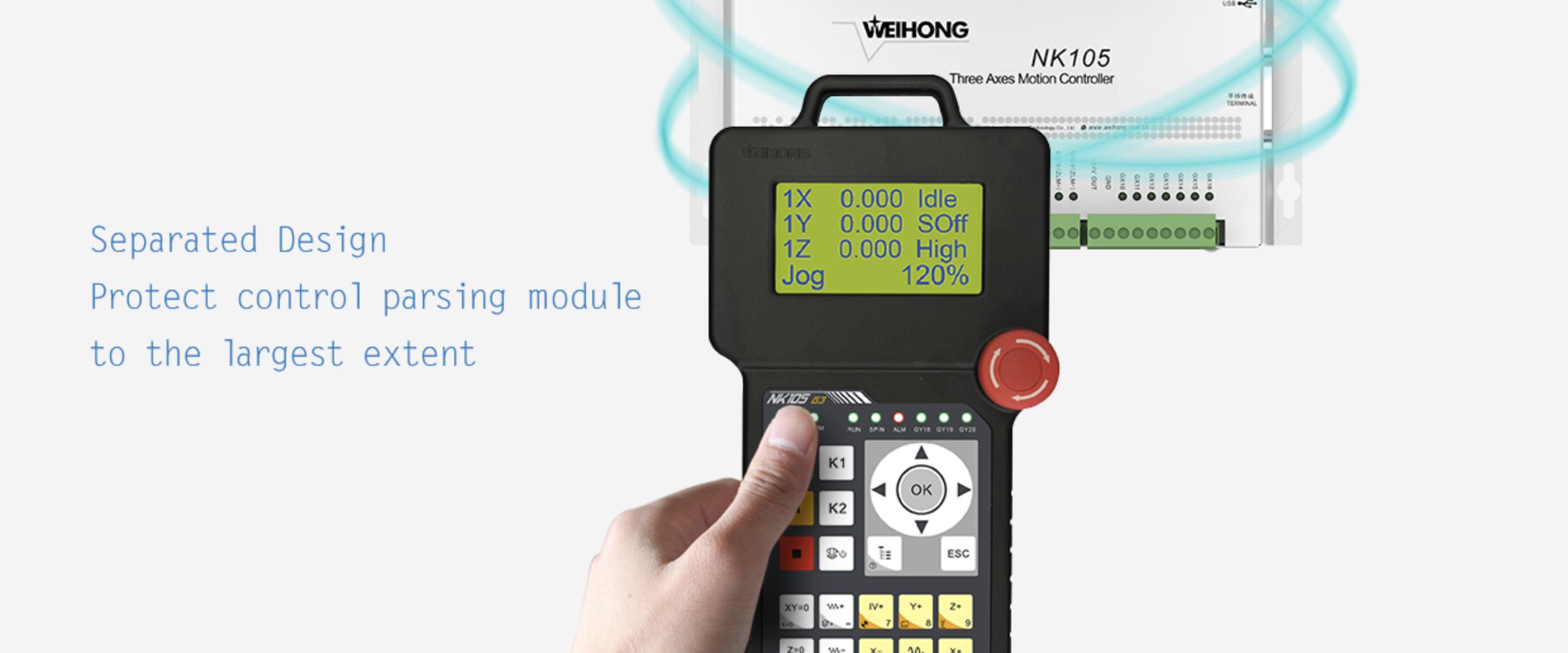 Handheld NK105 Controller 1