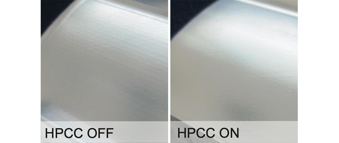 High Precision Contour Control (HPCC)