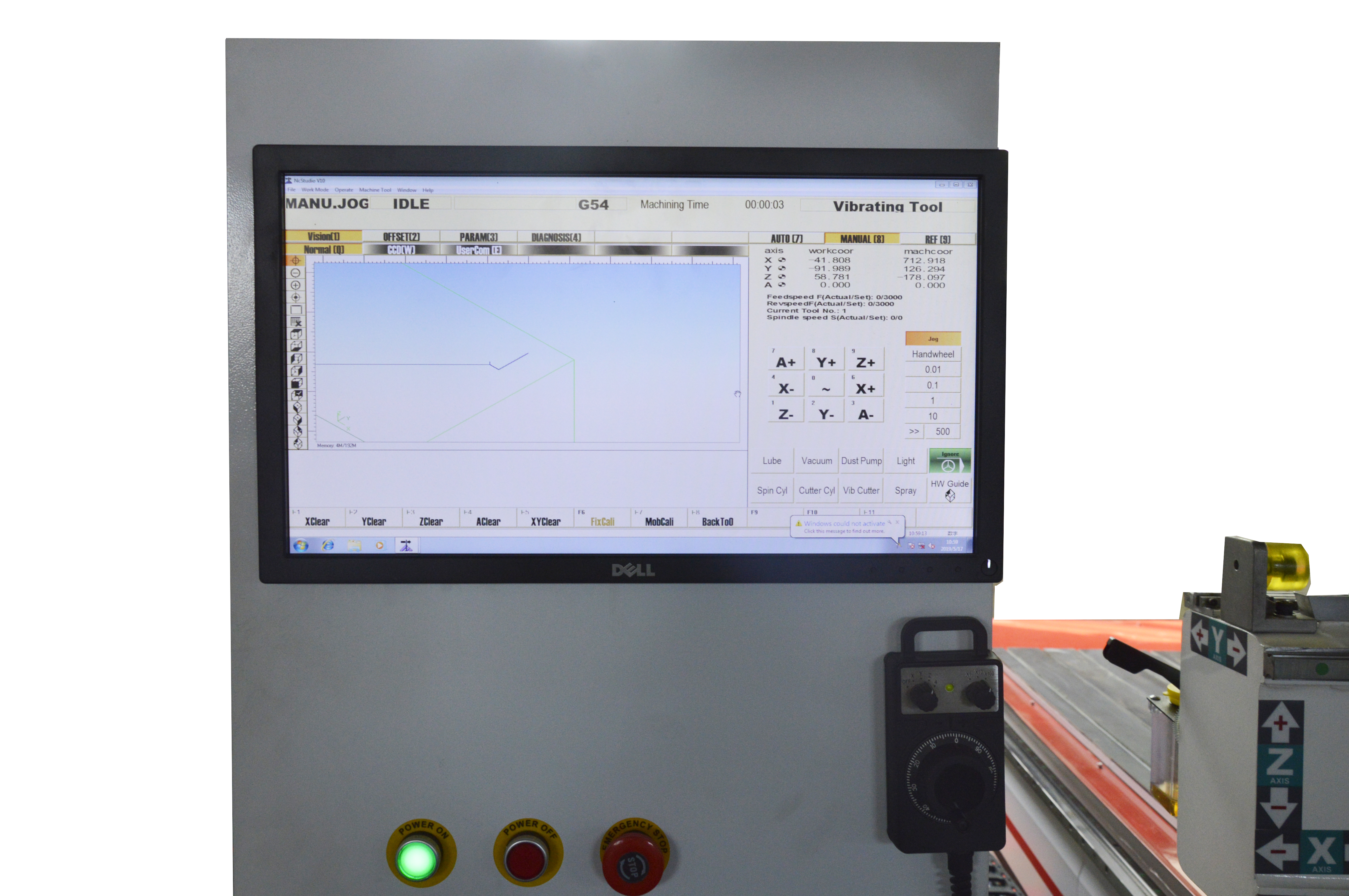 NC Studio PC Controller for CNC Router