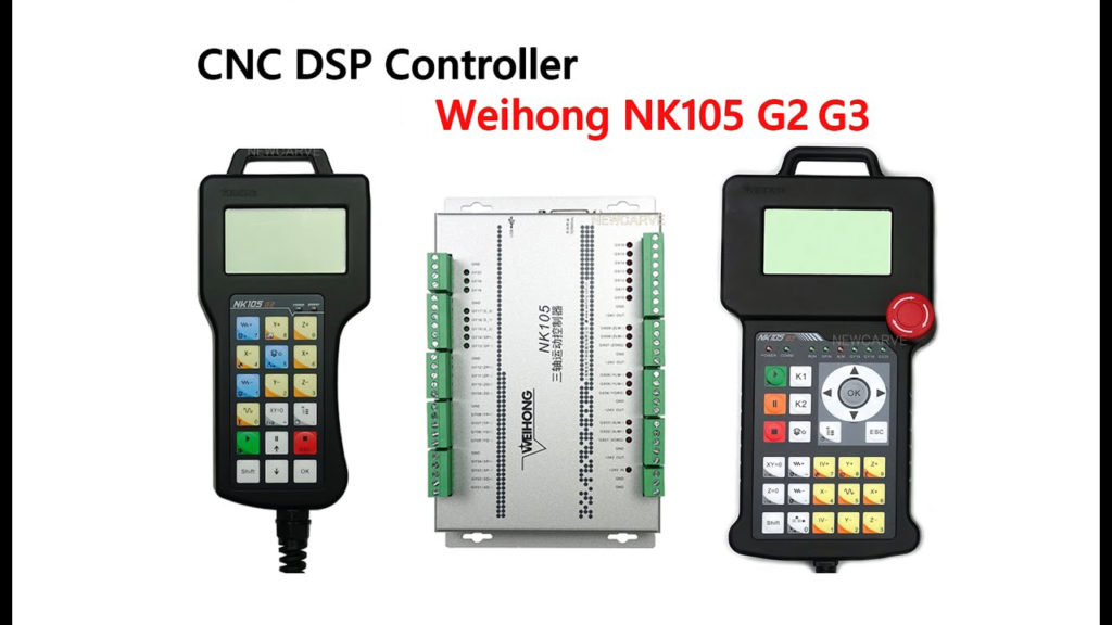 NK105 G2 and G3 for CNC Router