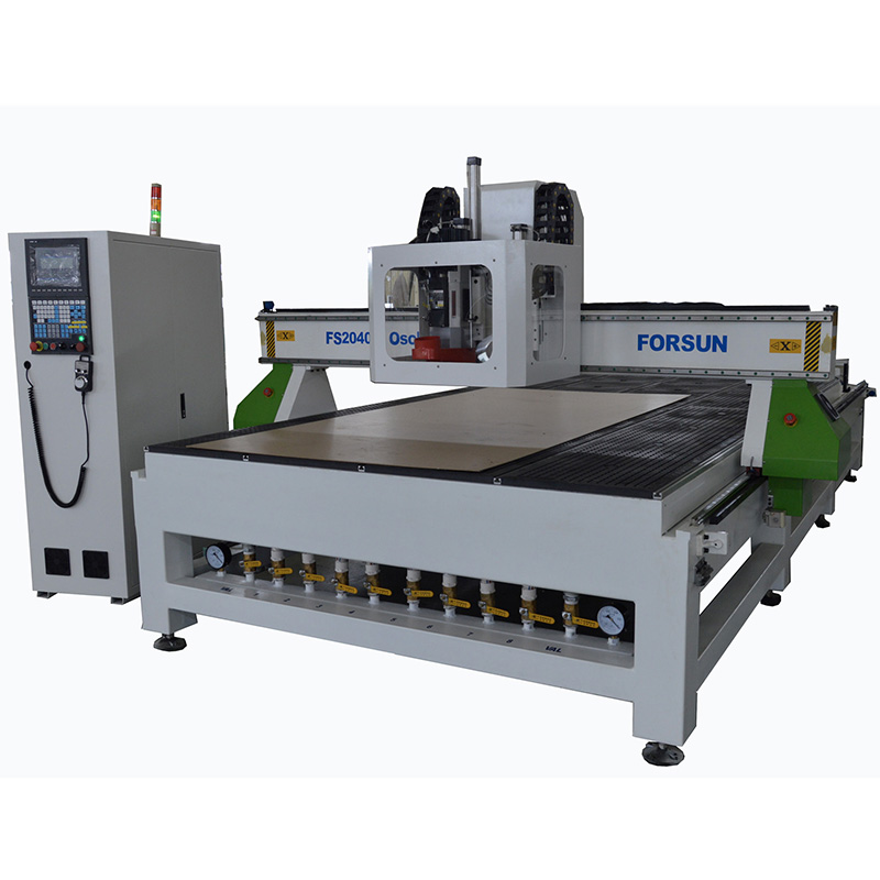 Oscillating Tangencial CNC ROUTER