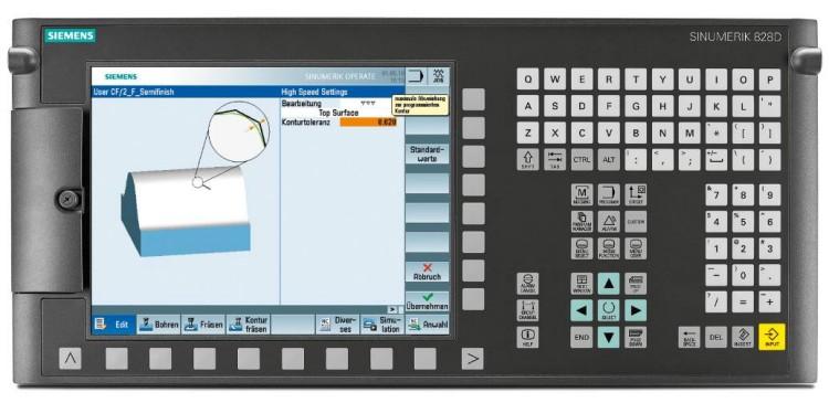 SIEMENS 828D Controller system