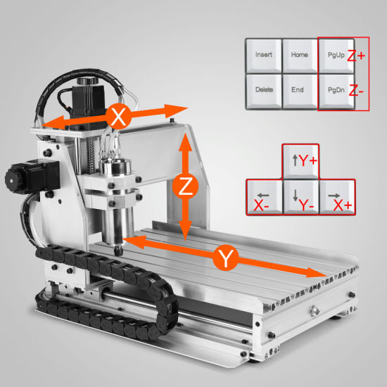 3 Axis wood cnc router