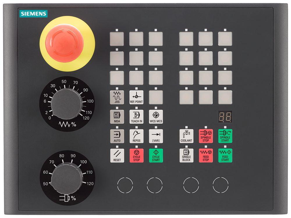 control panel of SIEMENS 828D 2