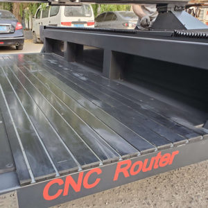 CNC Router Machine table